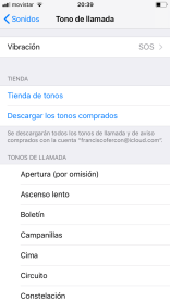 Crear secuencias de vibración personalizadas en iPhone