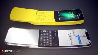 Concepto iPhone curvo