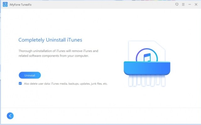 iMyFone TunesFix: eliminar iTunes