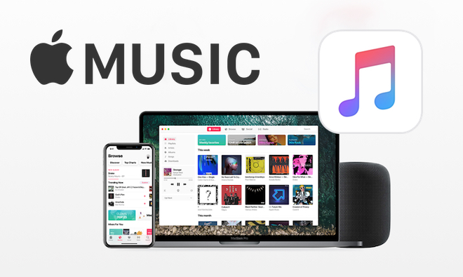 Apple Music concepto diseño servicio