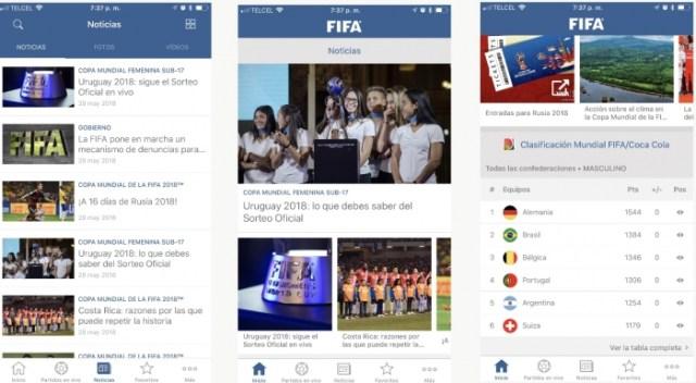 App de FIFA para iOS