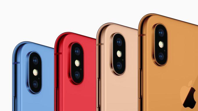 iPhone del 2018 con posibles colores