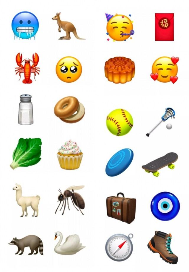 Emojis de iOS 12.1