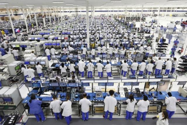 Foxconn despedira al 10 por ciento