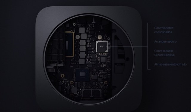 chip T2 Securityde mac mini 2018