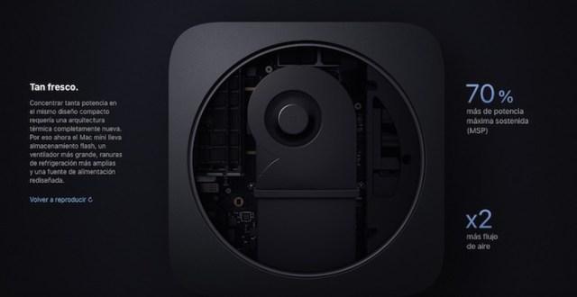 refrigeracion mac mini 2018