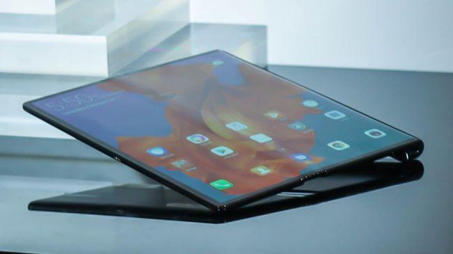 Huawei Mate X, el nuevo telefono plegable