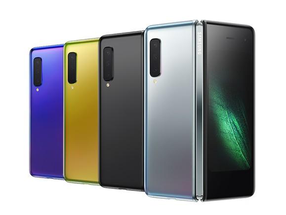 Colores Samsung Galaxy Fold