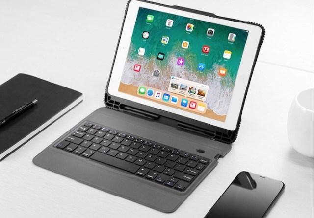 Funda con teclado para iPad 2018 OMOTON