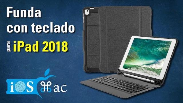 Funda con teclado para iPad 2018-youtube
