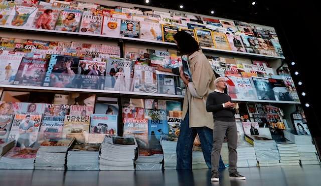servicios de apple revistas