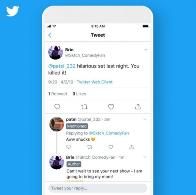 Nueva función de Twitter