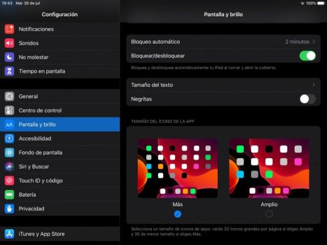 Cambios íconos iPadOS