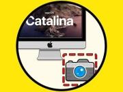Captura de pantalla en macOS Catalina