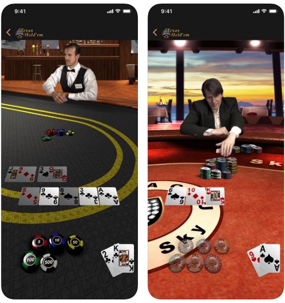Texas Hold'em juegos de apuestas