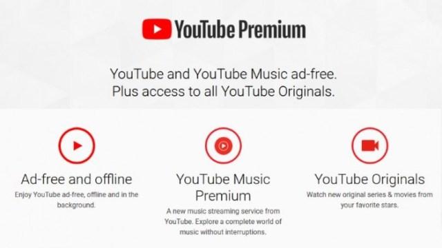que es youtube premium
