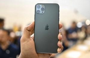 iPhone 11 Pro comienza a agotarse