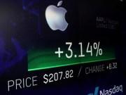 Apple crece en los mercados bursátiles