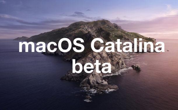 macOS 10.15.4 segundas betas
