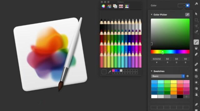 Colores Pixelmator Pro 1.6 Magenta