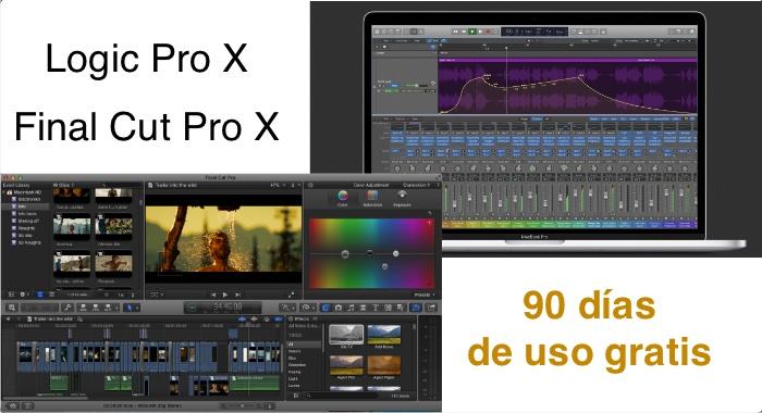 Final Cut Pro X Logic Pro X 90 dias
