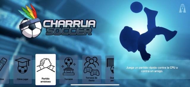 Modos de juego que cuenta Charrua Soccer