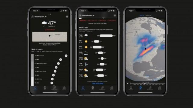 Dark Sky solo en Apple