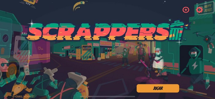 Scrappers llega a Apple Arcade