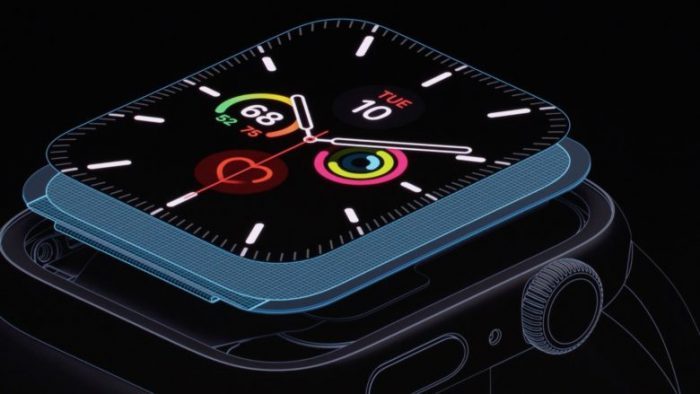Oxímetro Apple Watch