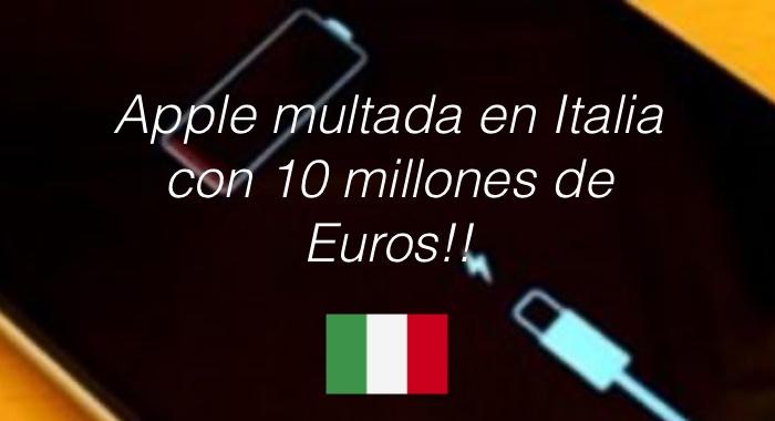 Multa Apple Italia
