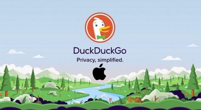 DuckDuckGo y Apple