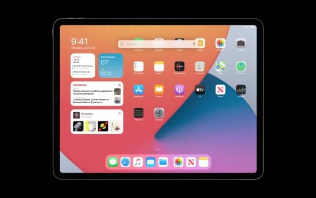 Búsqueda universal iPadOS 14