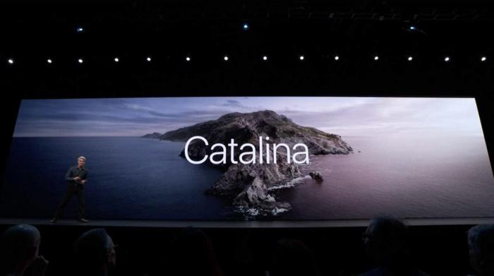 Presentación de macOS Catalina