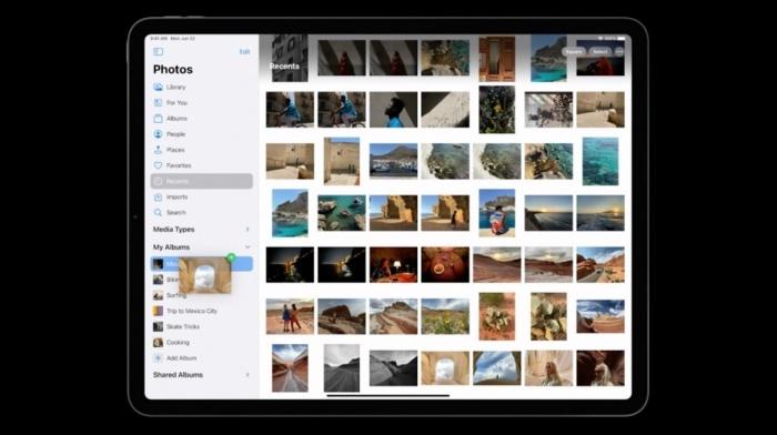 Fotos en iPadOS 14