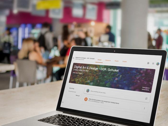 Google Classroom en Mac