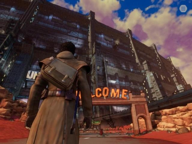 Union City en Beyond Steel Sky 2
