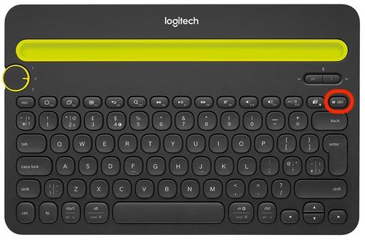 Teclado Logitech suprimir en macOS