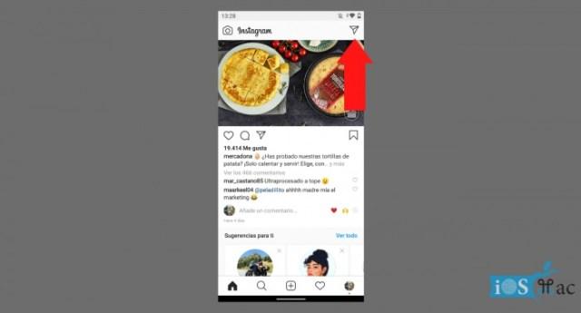 DM o mensajes directos de Instagram