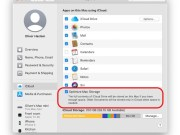 Optimizar almacenamiento del Mac