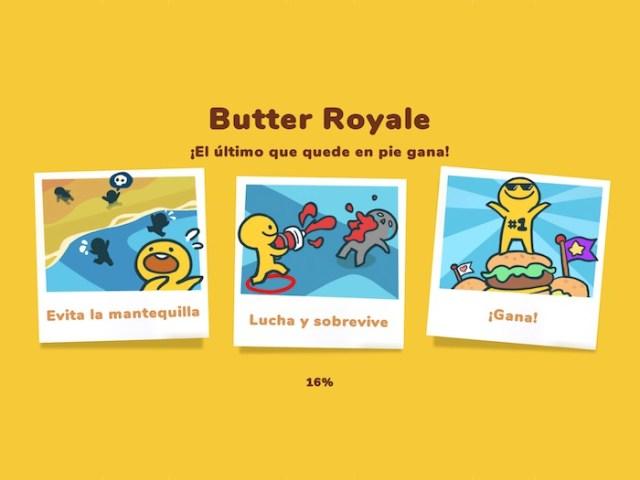 Butter Royale Misión del juego