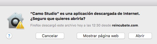 Camo Studio en Mac