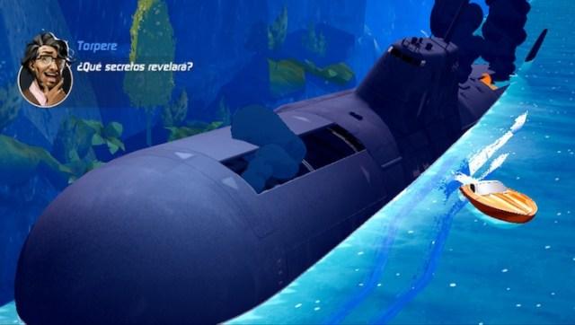 Deteniendo a un submarino