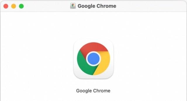 Google Chrome ícono en macOS Big Sur