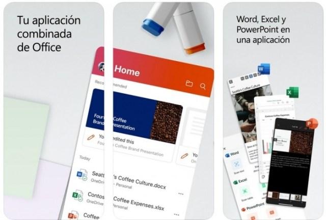 aplicaciones iOS Office