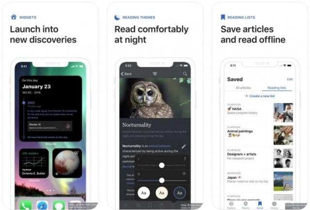 aplicaciones iOS Wikipedia