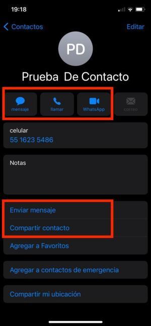 Contacto agregado