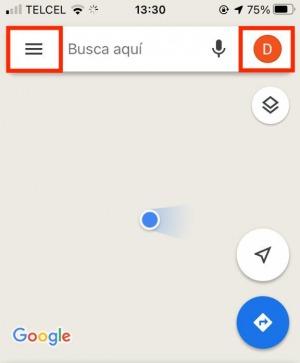 Interfaz Google Maps