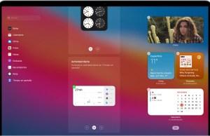 Centro de notificaciones widgets macOS Big Sur