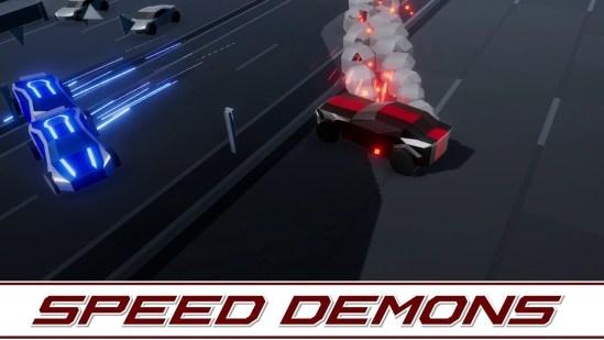Speed Demons, arrasa con todo y a toda velocidad para ganar (reseña) – Apple Arcade