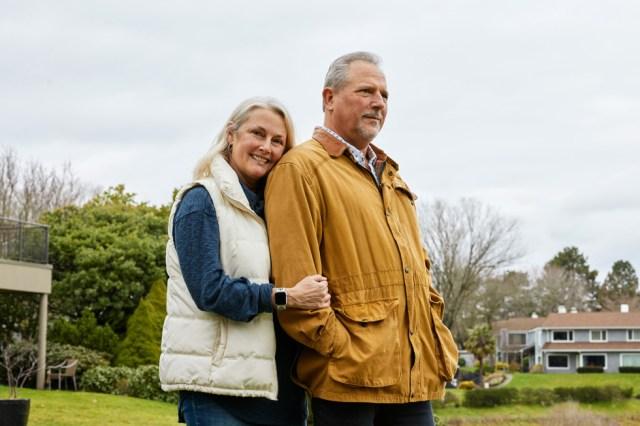 Bob March y su esposa Lori